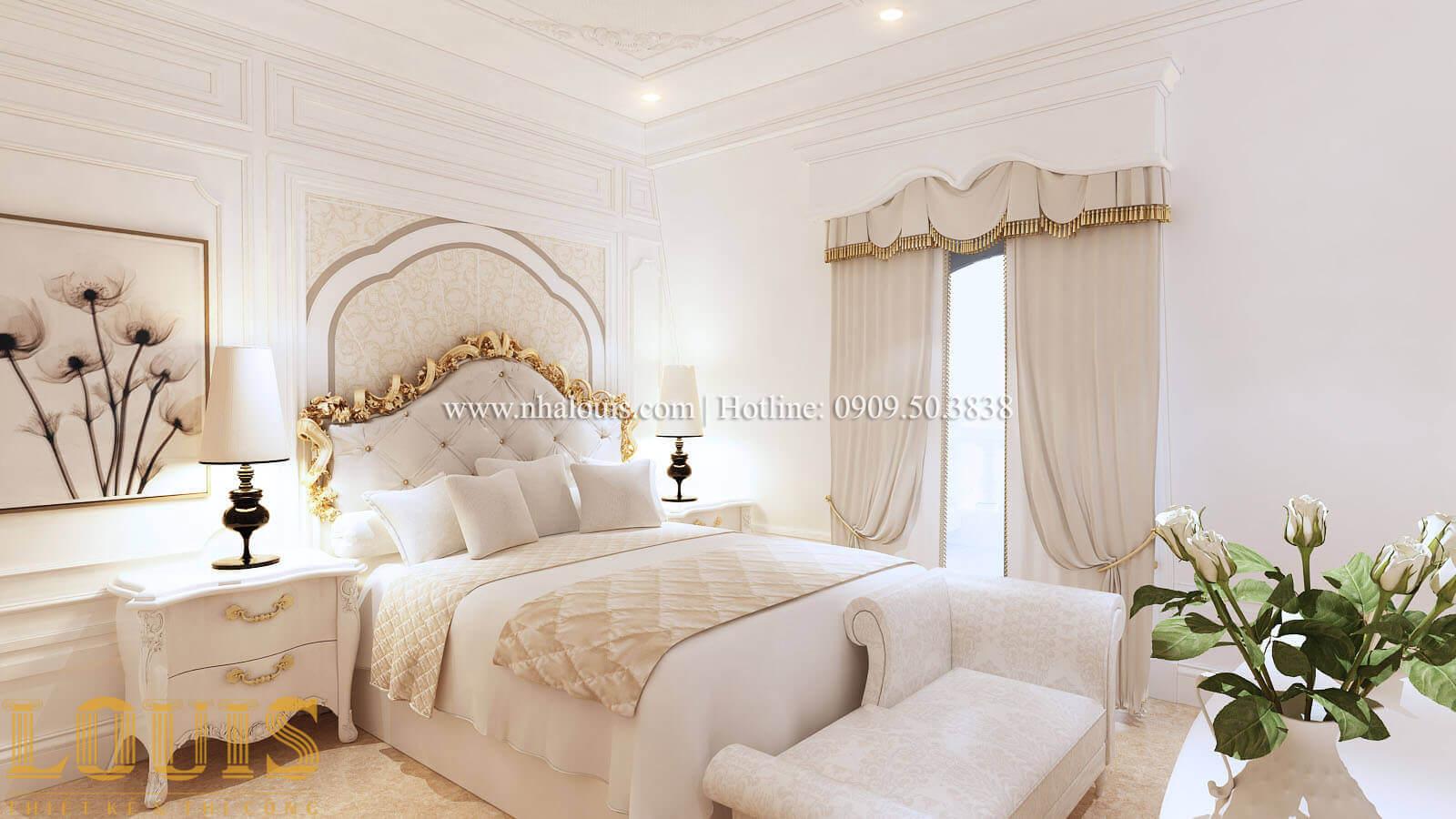 Phòng ngủ 2 Biệt thự lâu đài kiểu Pháp quyền quý và đẳng cấp tại Khánh Hòa