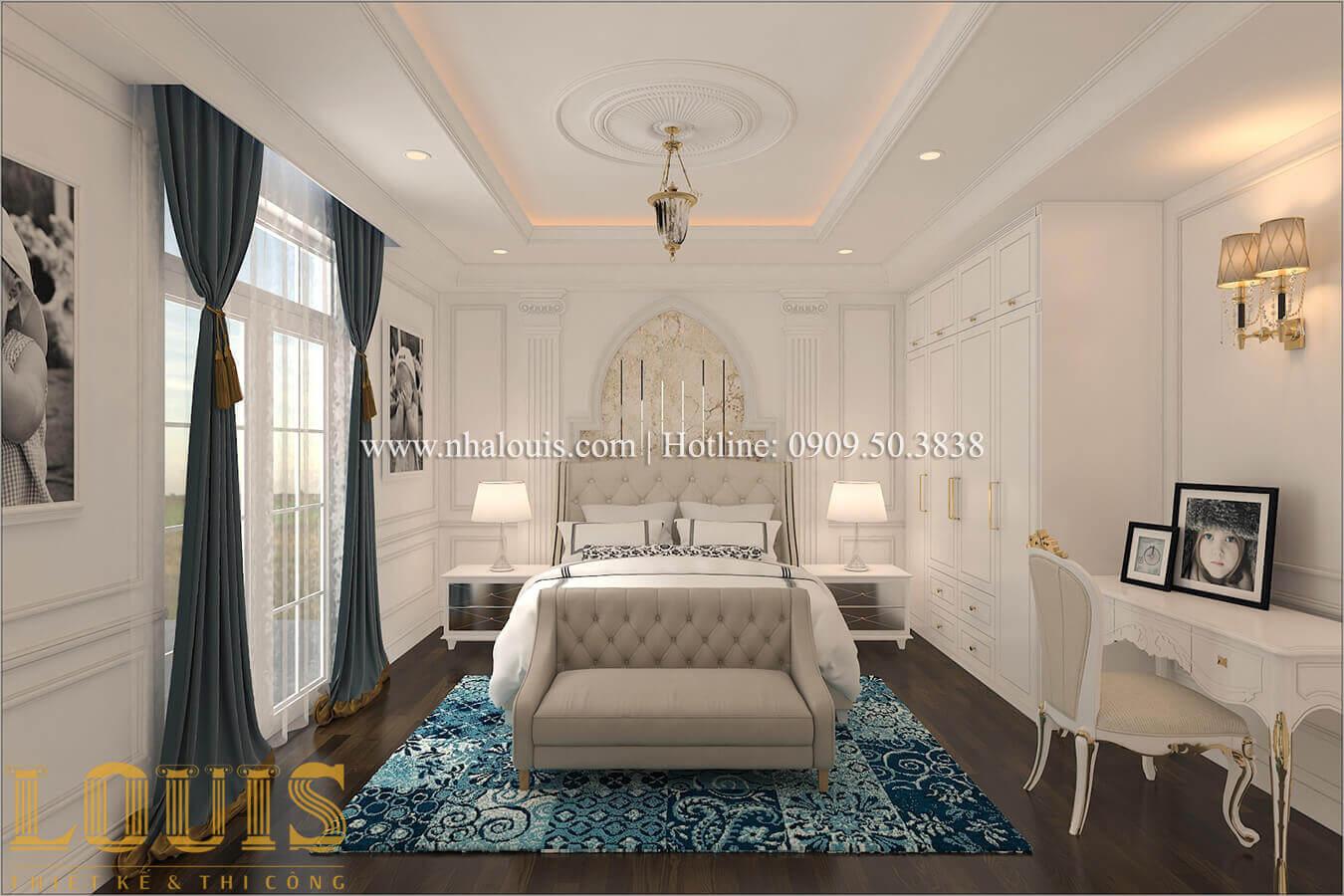 Phòng ngủ Biệt thự lâu đài kiểu Pháp quyền quý và đẳng cấp tại Khánh Hòa