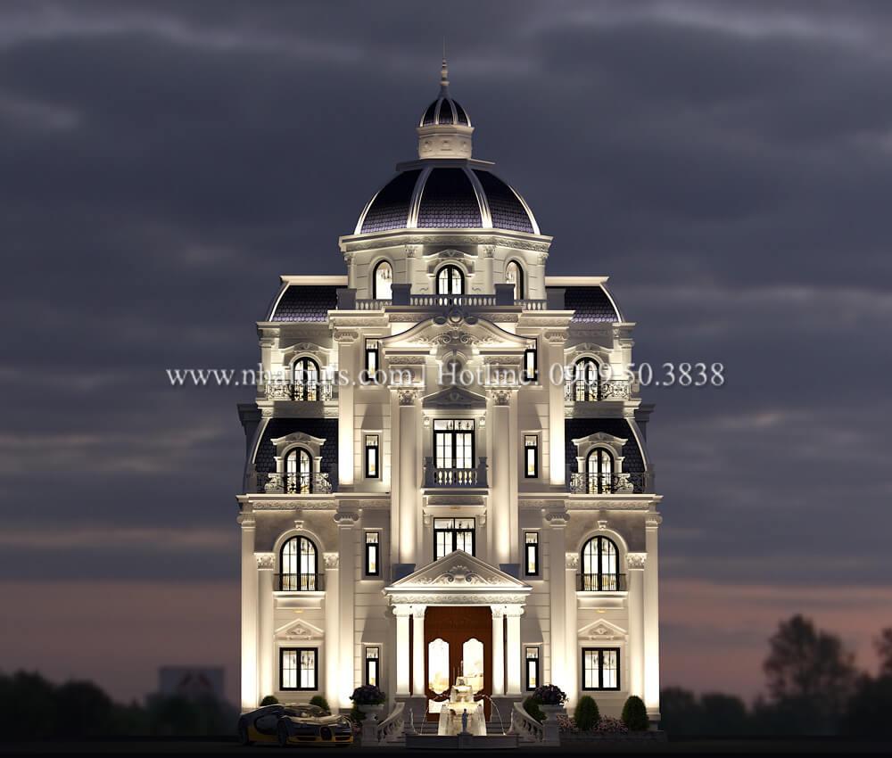 Biệt thự lâu đài 5 tầng tân cổ điển đậm chất quý tộc tại Khánh Hòa