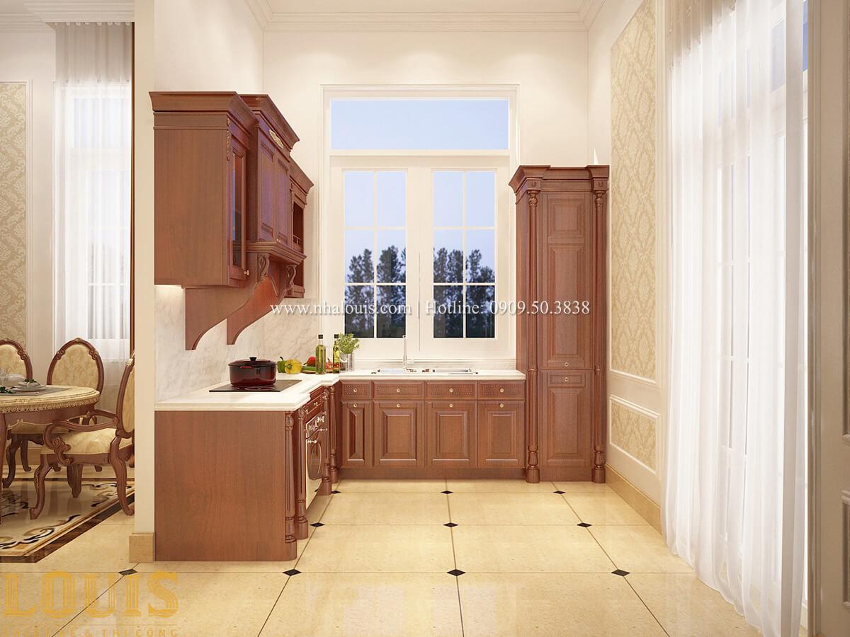 Bếp và phòng ăn Biệt thự 2 tầng cổ điển lộng lẫy và sang trọng tại Hóc Môn - 14