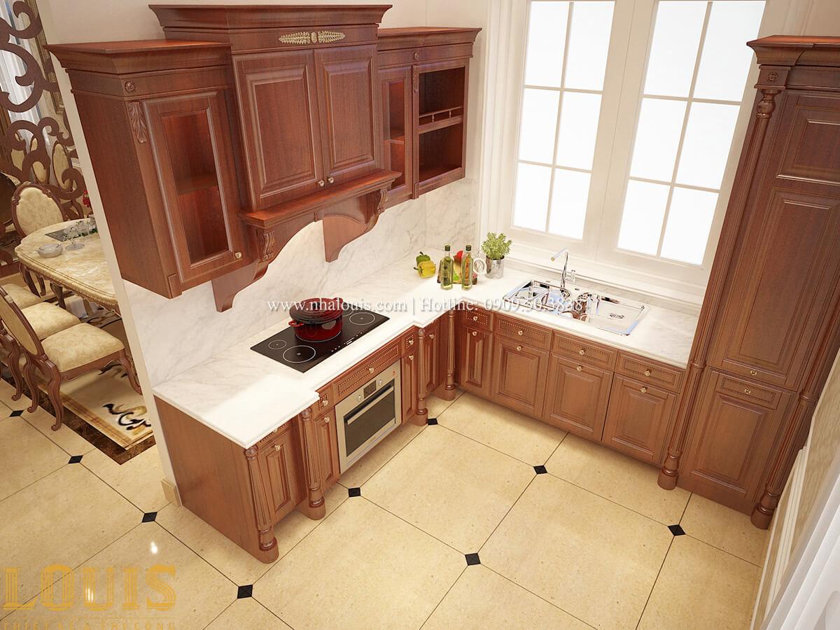 Bếp và phòng ăn Biệt thự 2 tầng cổ điển lộng lẫy và sang trọng tại Hóc Môn - 15