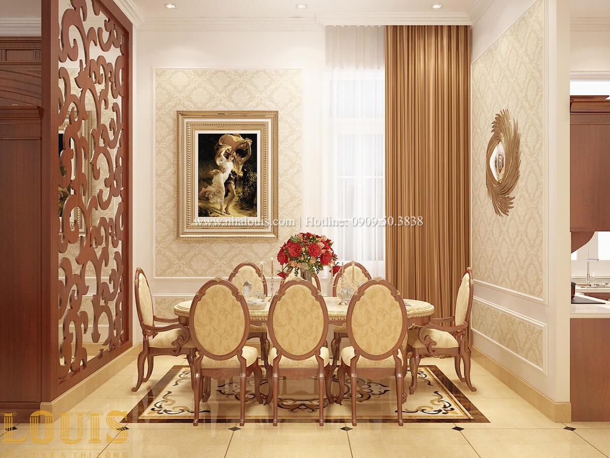 Bếp và phòng ăn Biệt thự 2 tầng cổ điển lộng lẫy và sang trọng tại Hóc Môn - 16