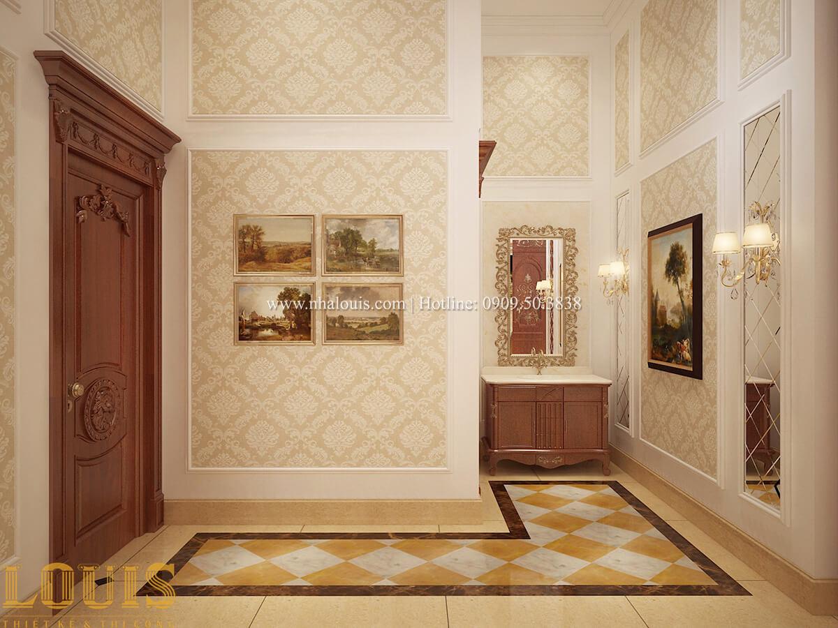 Bếp và phòng ăn Biệt thự 2 tầng cổ điển lộng lẫy và sang trọng tại Hóc Môn - 17