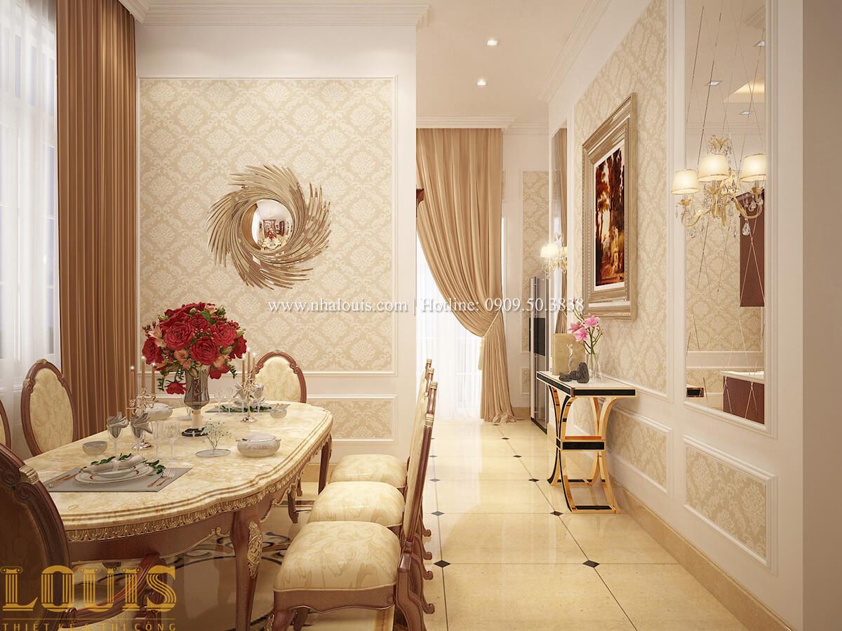 Bếp và phòng ăn Biệt thự 2 tầng cổ điển lộng lẫy và sang trọng tại Hóc Môn - 18