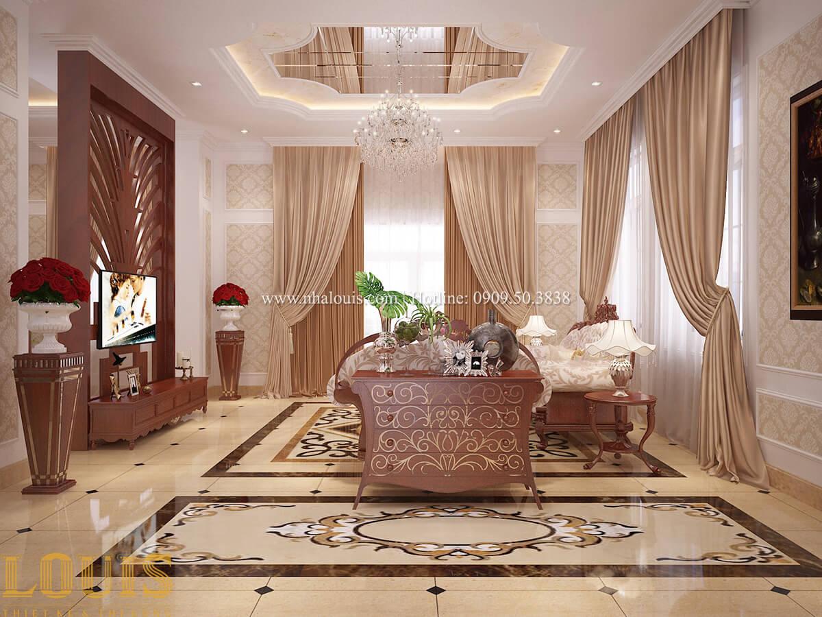Phòng khách Biệt thự 2 tầng cổ điển lộng lẫy và sang trọng tại Hóc Môn - 19