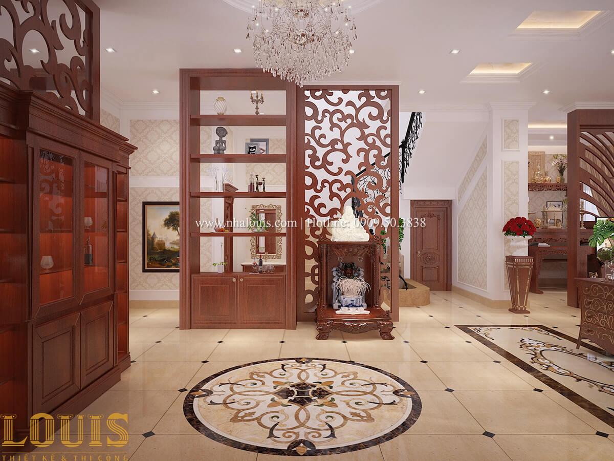 Phòng khách Biệt thự 2 tầng cổ điển lộng lẫy và sang trọng tại Hóc Môn - 20