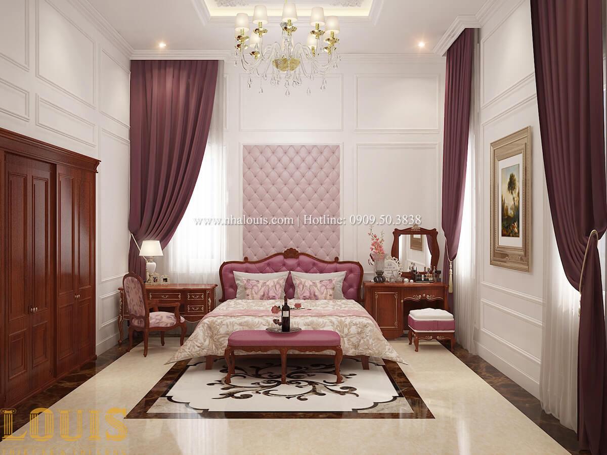 Phòng ngủ master Biệt thự 2 tầng cổ điển lộng lẫy và sang trọng tại Hóc Môn - 22