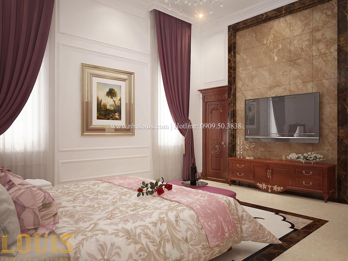 Phòng ngủ master Biệt thự 2 tầng cổ điển lộng lẫy và sang trọng tại Hóc Môn - 23