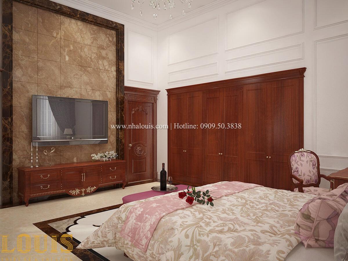 Phòng ngủ master Biệt thự 2 tầng cổ điển lộng lẫy và sang trọng tại Hóc Môn - 24