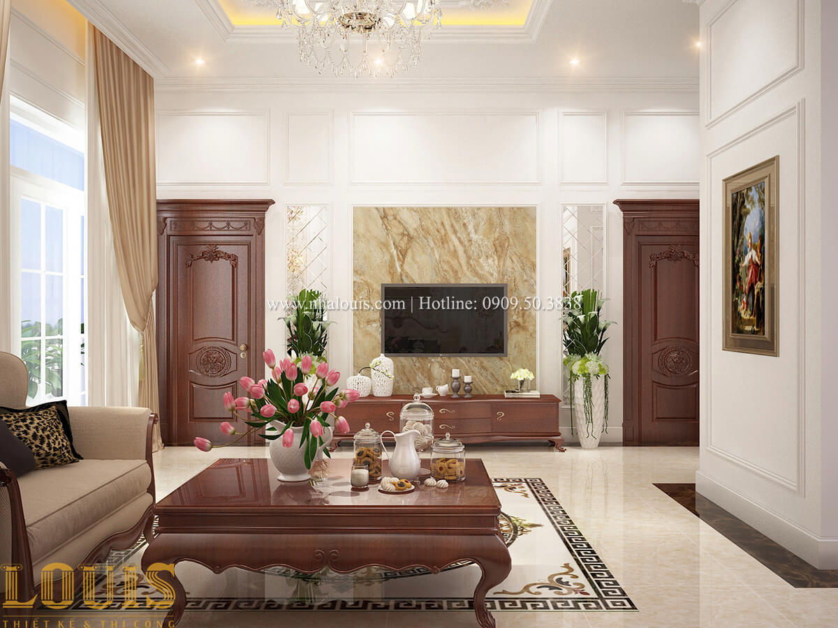 Phòng giải trí Biệt thự 2 tầng cổ điển lộng lẫy và sang trọng tại Hóc Môn - 26