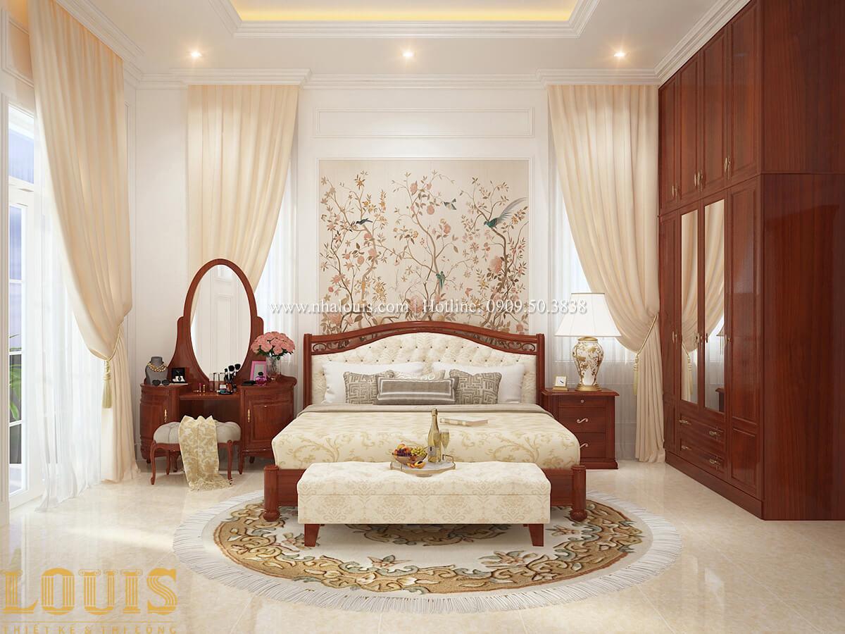 Phòng ngủ Biệt thự 2 tầng cổ điển lộng lẫy và sang trọng tại Hóc Môn - 28