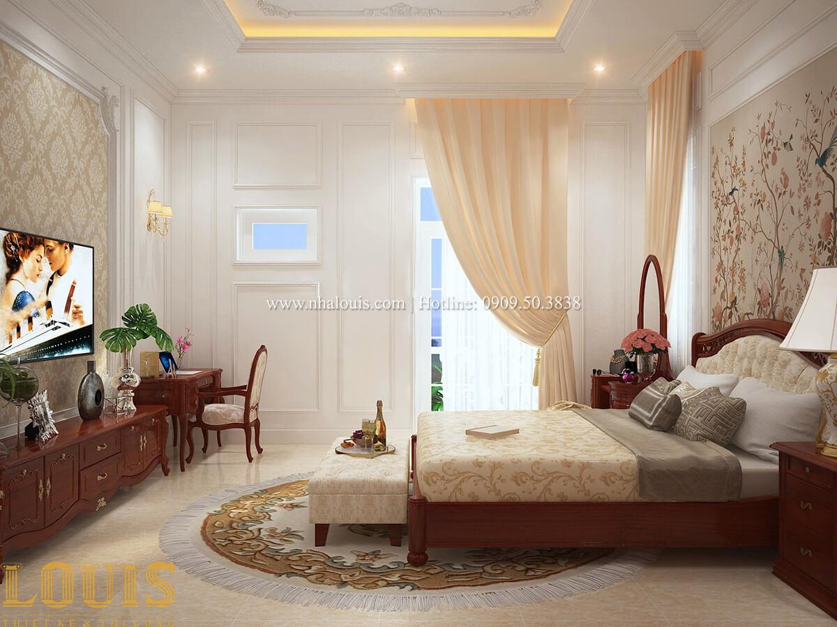 Phòng ngủ Biệt thự 2 tầng cổ điển lộng lẫy và sang trọng tại Hóc Môn - 29