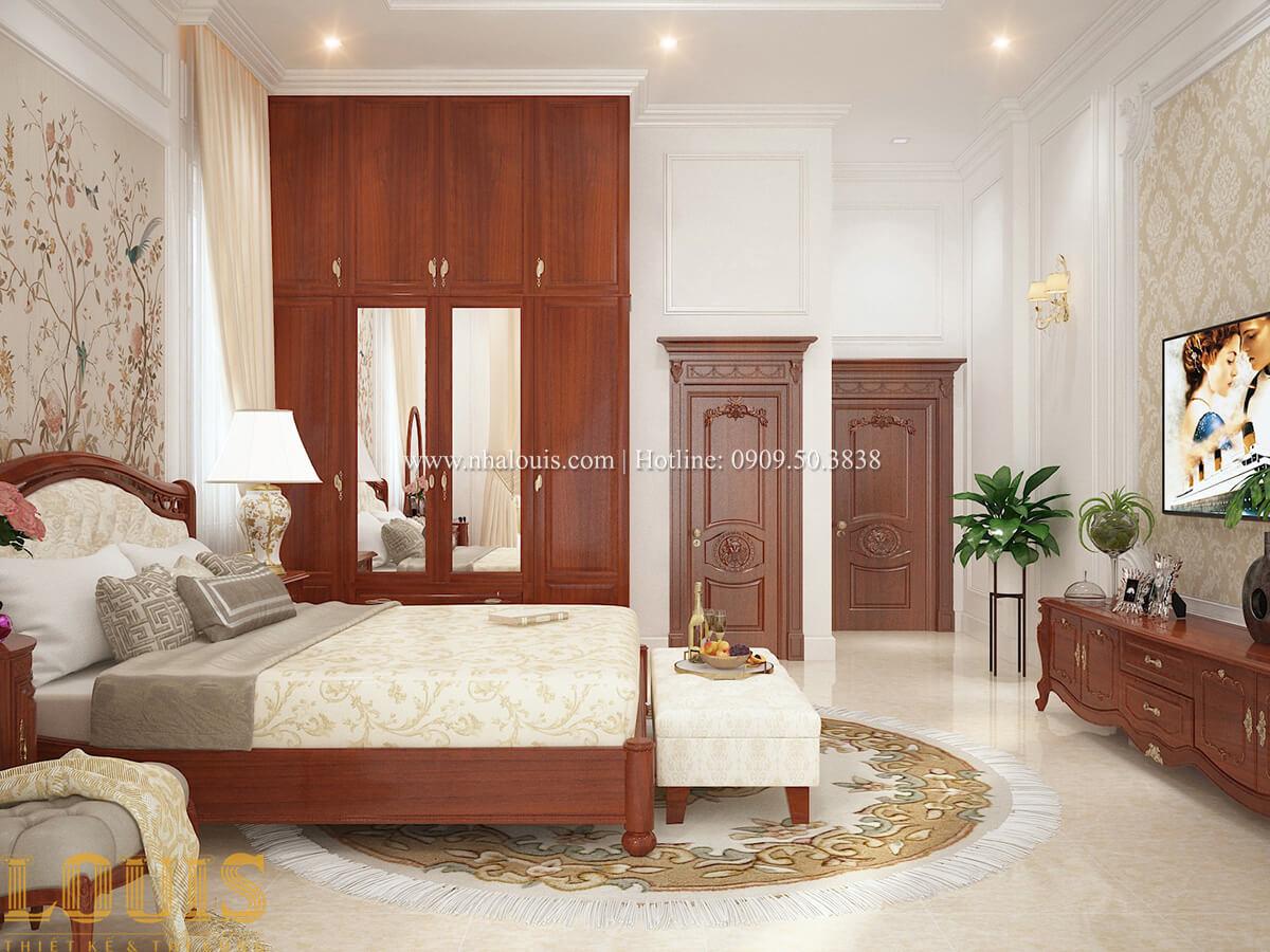 Phòng ngủ Biệt thự 2 tầng cổ điển lộng lẫy và sang trọng tại Hóc Môn - 30