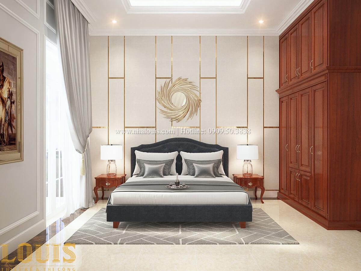 Phòng ngủ Biệt thự 2 tầng cổ điển lộng lẫy và sang trọng tại Hóc Môn - 31