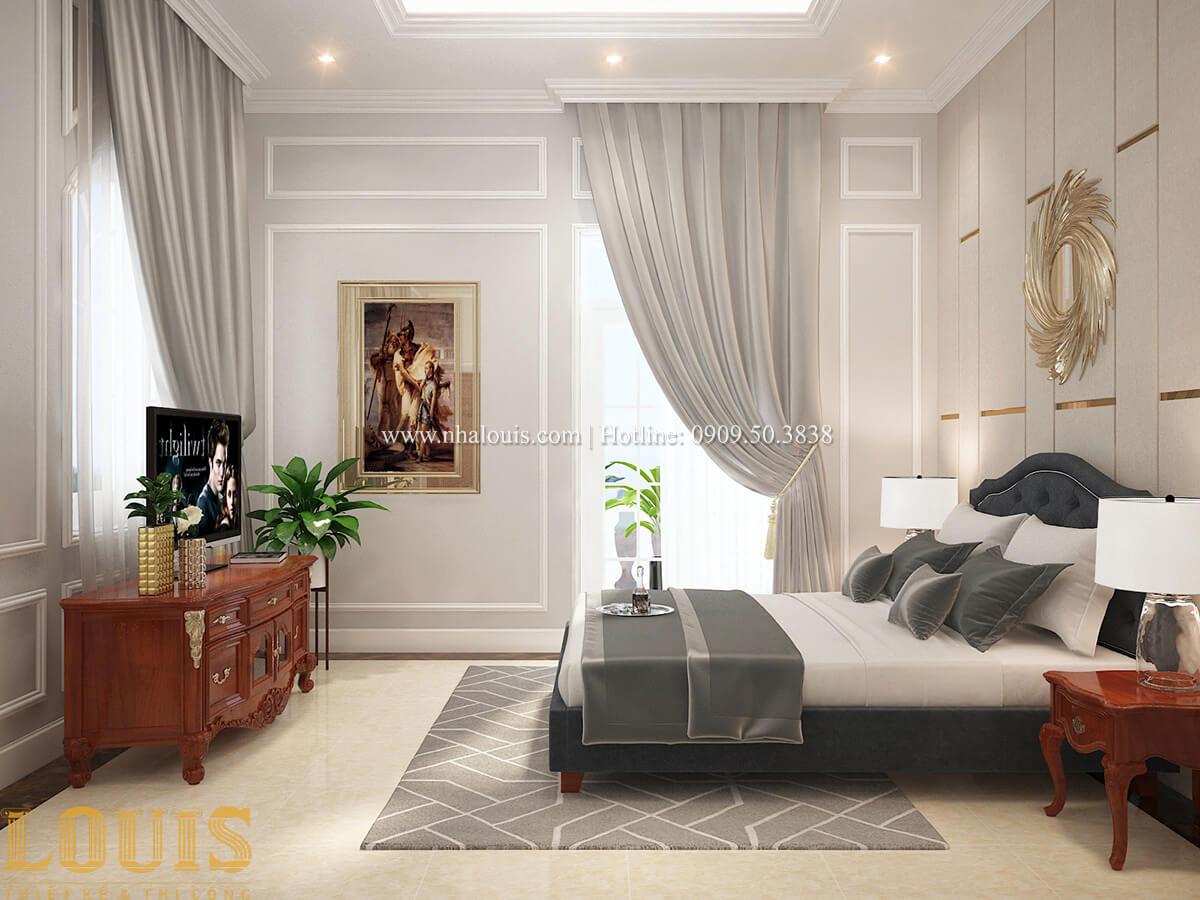 Phòng ngủ Biệt thự 2 tầng cổ điển lộng lẫy và sang trọng tại Hóc Môn - 32