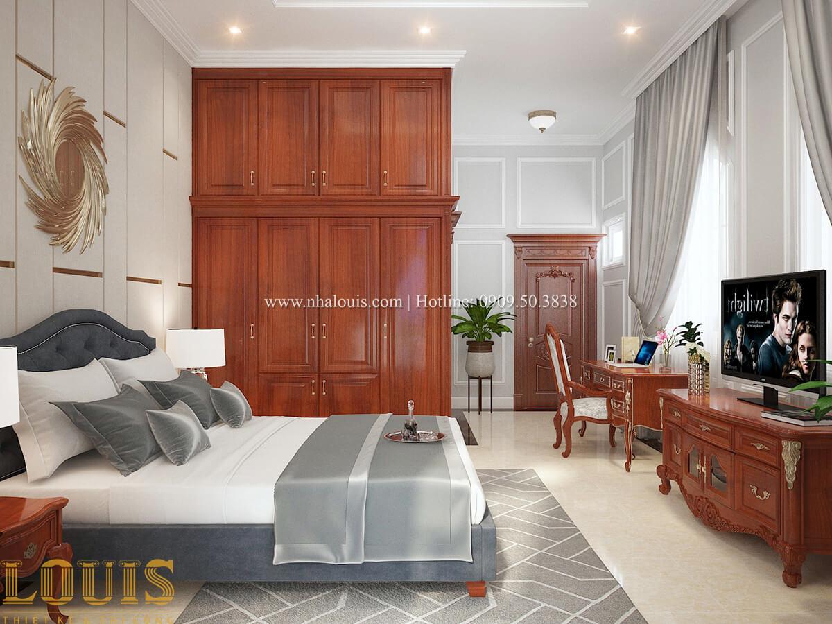 Phòng ngủ Biệt thự 2 tầng cổ điển lộng lẫy và sang trọng tại Hóc Môn - 33