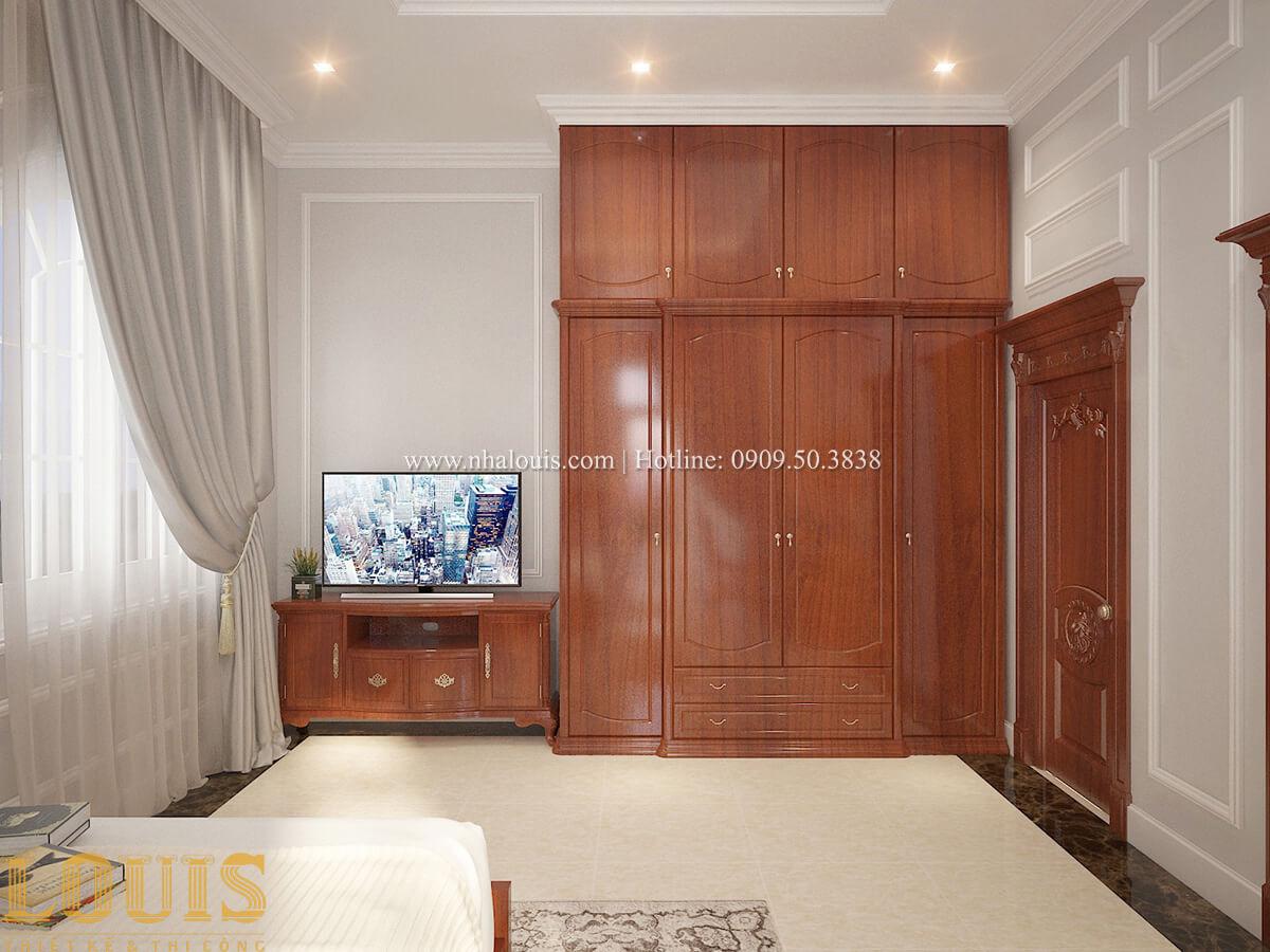 Phòng ngủ Biệt thự 2 tầng cổ điển lộng lẫy và sang trọng tại Hóc Môn - 35