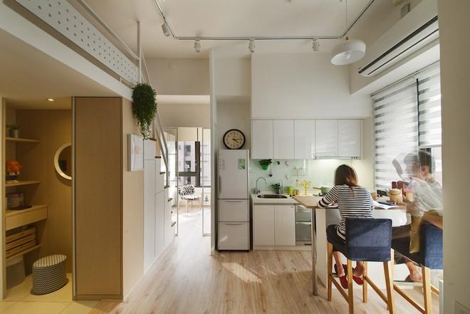 Cải tạo căn hộ đẹp ngất ngay với ý tưởng đập bỏ tường ngăn