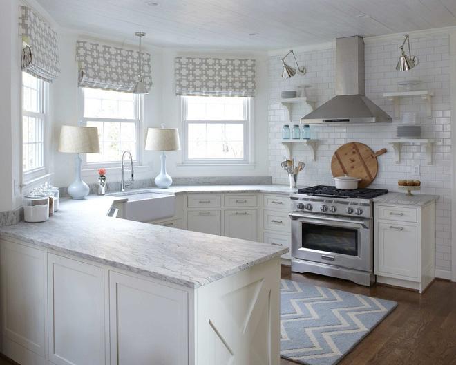 F5 phòng bếp cũ cùng ý tưởng rèm trang trí đẹp lung linh