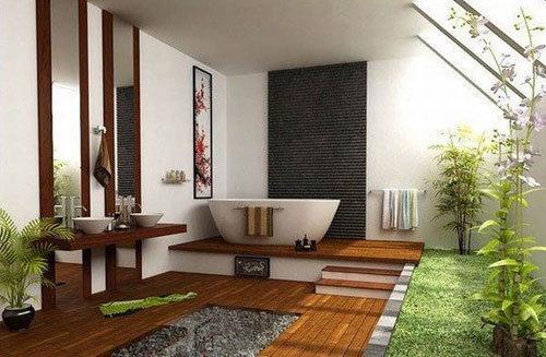 Không gian phòng tắm đẹp tinh tế với phong cách tối giản