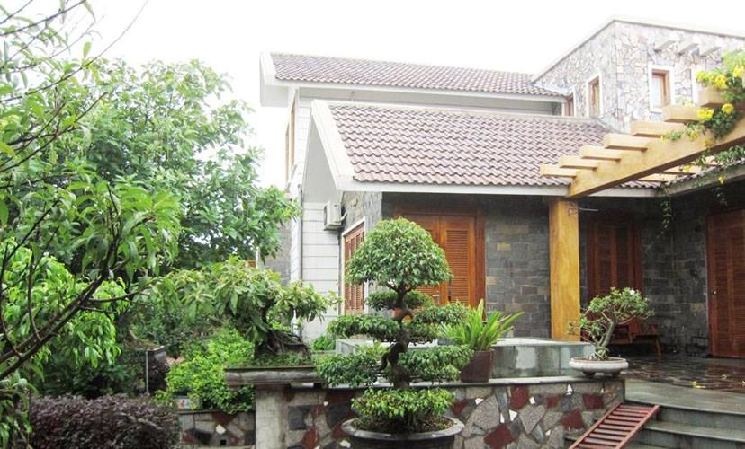 Ngắm mẫu biệt thự vườn 1 tầng đẹp nghẹt thở ở Bắc Giang