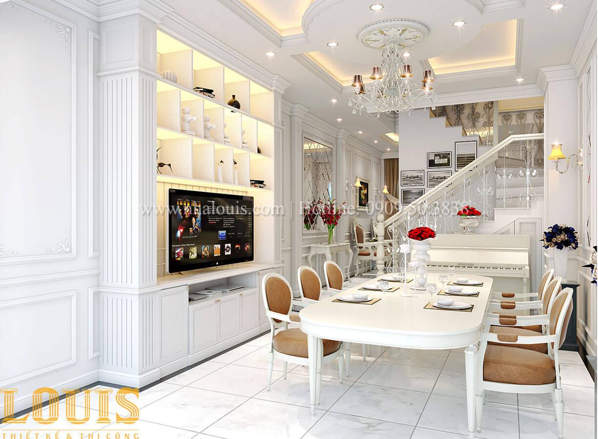 Phòng khách Nhà 4x15 phong cách tân cổ điển 4 tầng đẹp sang chảnh tại Gò Vấp - 10