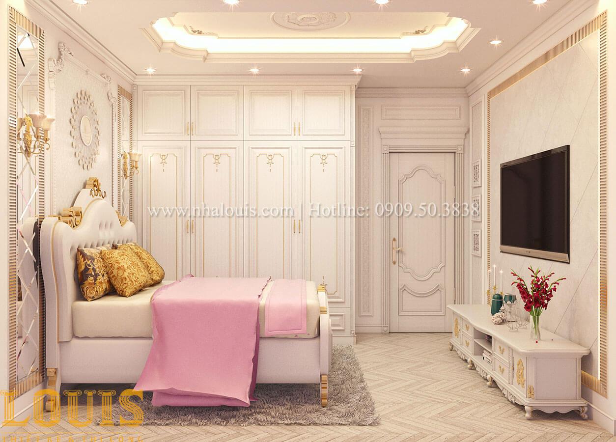 Phòng ngủ Nhà 4x15 phong cách tân cổ điển 4 tầng đẹp sang chảnh tại Gò Vấp - 16
