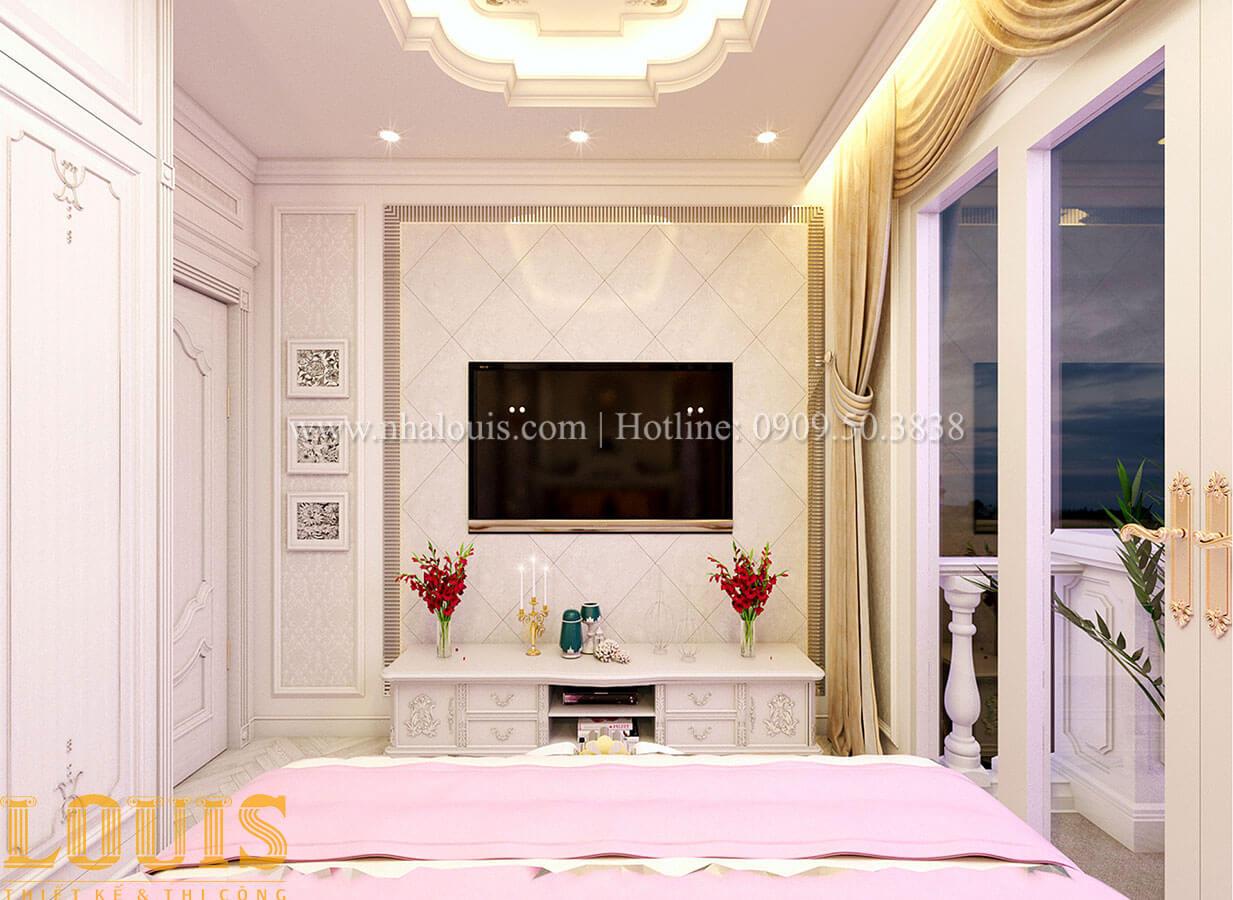 Phòng ngủ Nhà 4x15 phong cách tân cổ điển 4 tầng đẹp sang chảnh tại Gò Vấp - 17