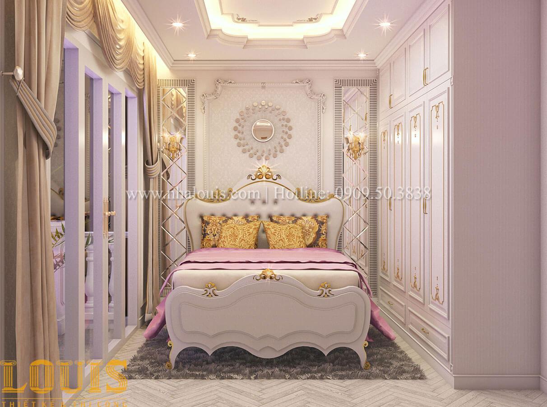 Phòng ngủ Nhà 4x15 phong cách tân cổ điển 4 tầng đẹp sang chảnh tại Gò Vấp - 18