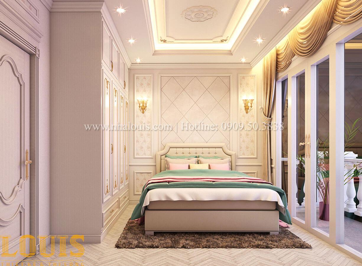 Phòng ngủ Nhà 4x15 phong cách tân cổ điển 4 tầng đẹp sang chảnh tại Gò Vấp - 19