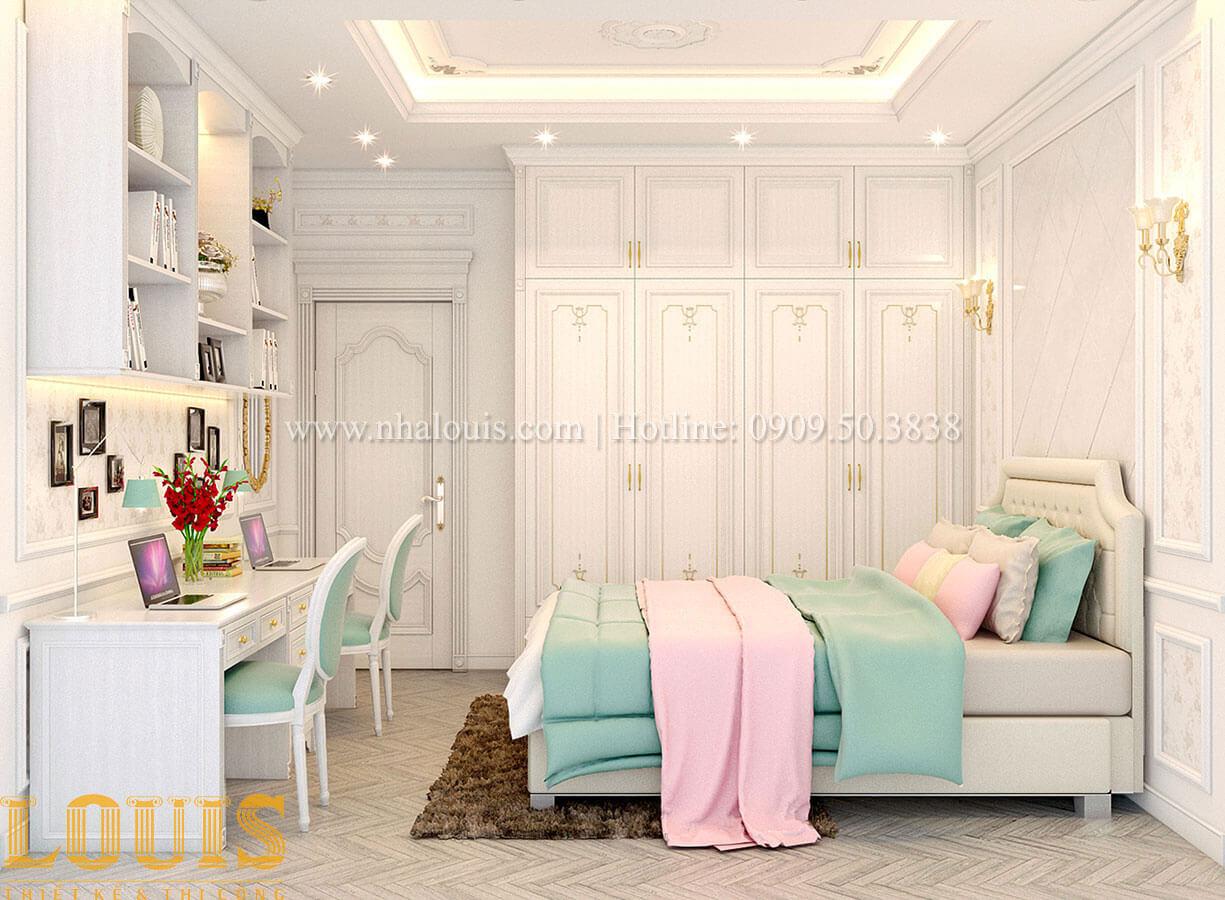 Phòng ngủ Nhà 4x15 phong cách tân cổ điển 4 tầng đẹp sang chảnh tại Gò Vấp - 20