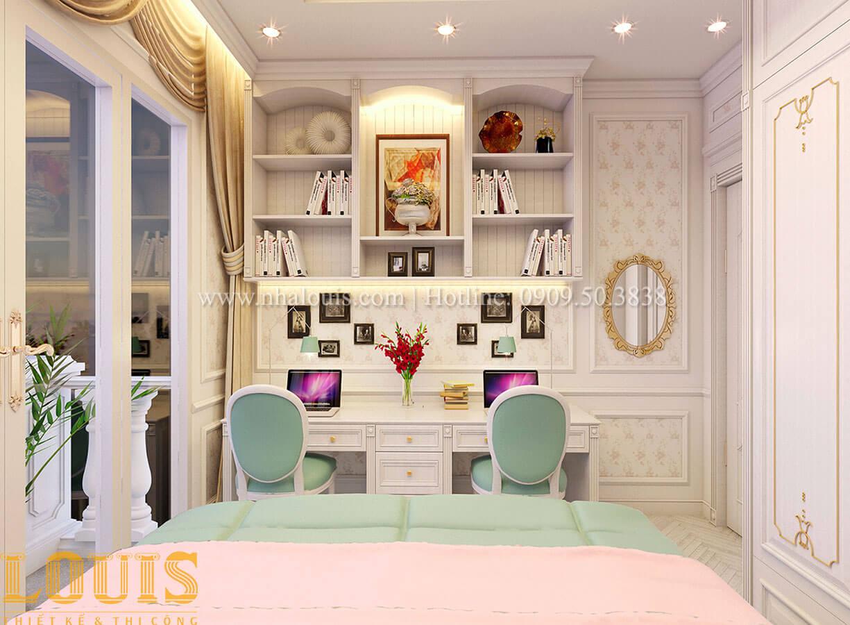 Phòng ngủ Nhà 4x15 phong cách tân cổ điển 4 tầng đẹp sang chảnh tại Gò Vấp - 21