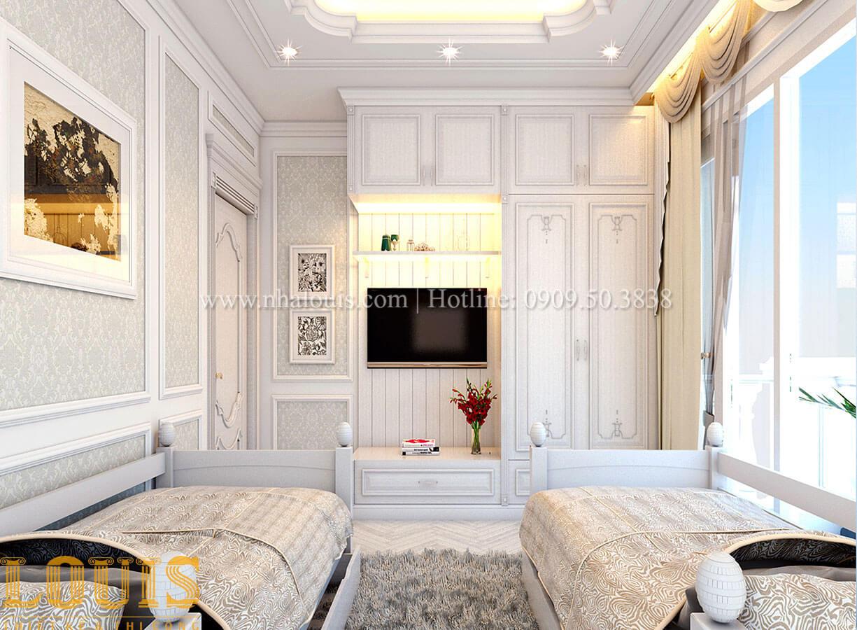 Phòng ngủ Nhà 4x15 phong cách tân cổ điển 4 tầng đẹp sang chảnh tại Gò Vấp - 24