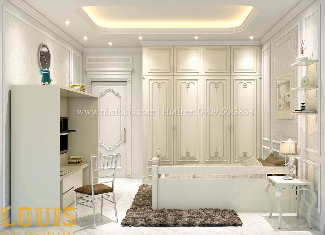 Phòng ngủ Nhà 4x15 phong cách tân cổ điển 4 tầng đẹp sang chảnh tại Gò Vấp - 25