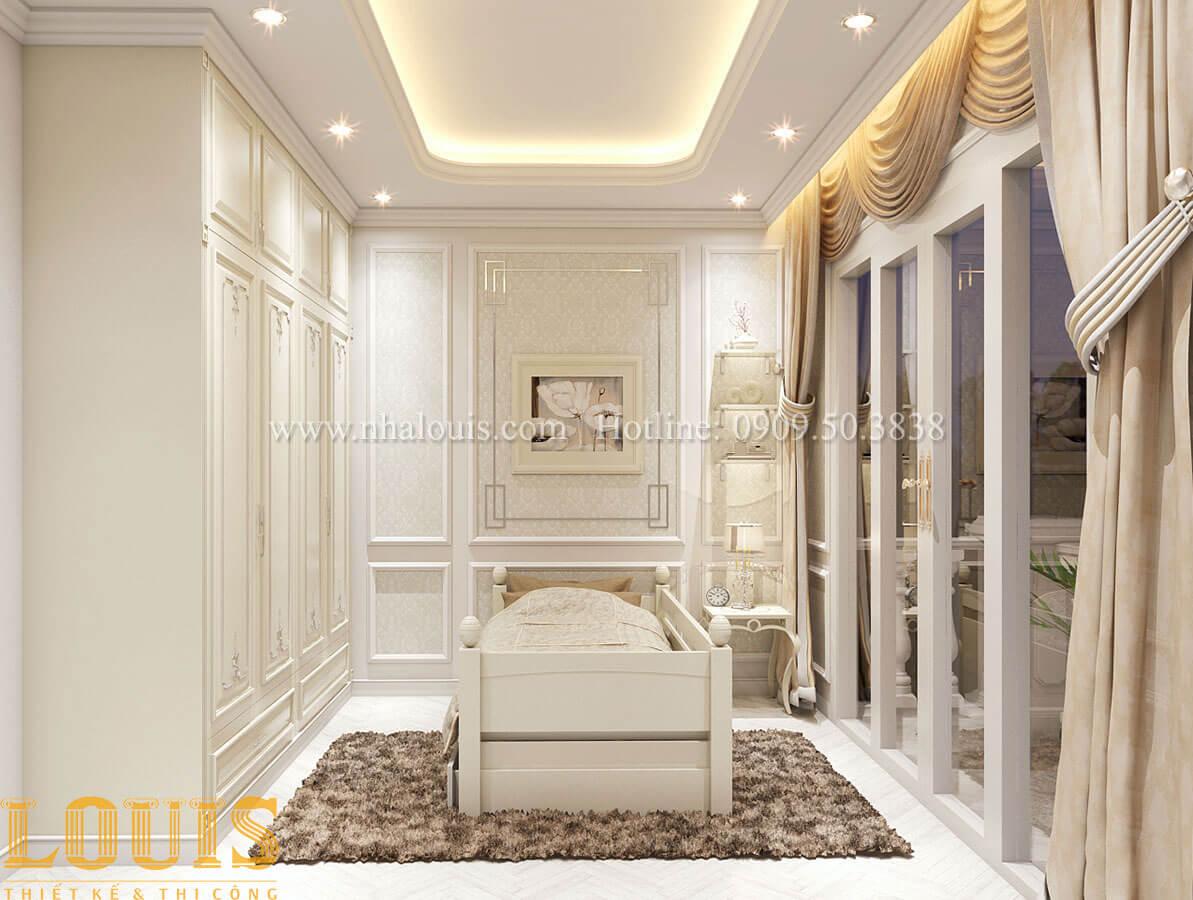 Phòng ngủ Nhà 4x15 phong cách tân cổ điển 4 tầng đẹp sang chảnh tại Gò Vấp - 26