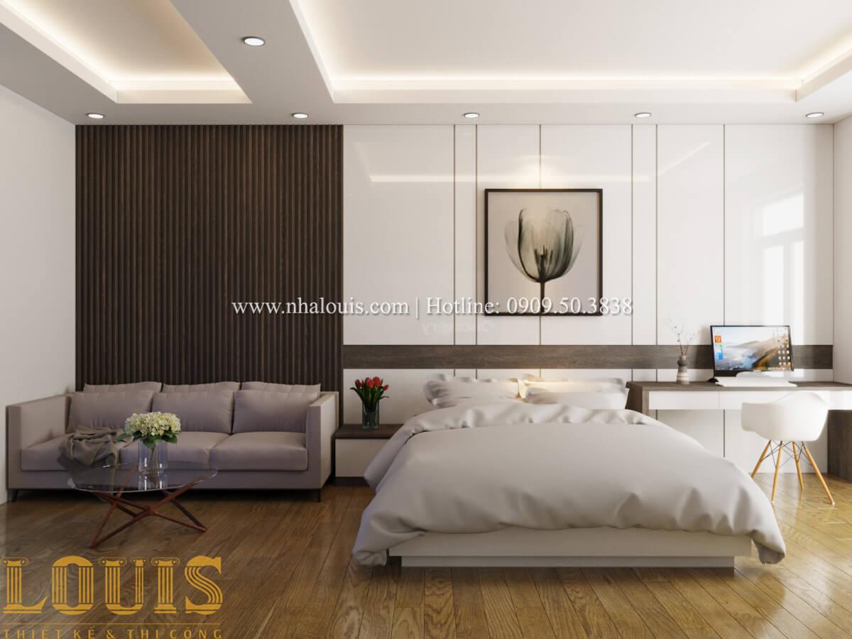 Phòng ngủ Nhà phố bán cổ điển với thần thái cực chất tại Tân Bình 14