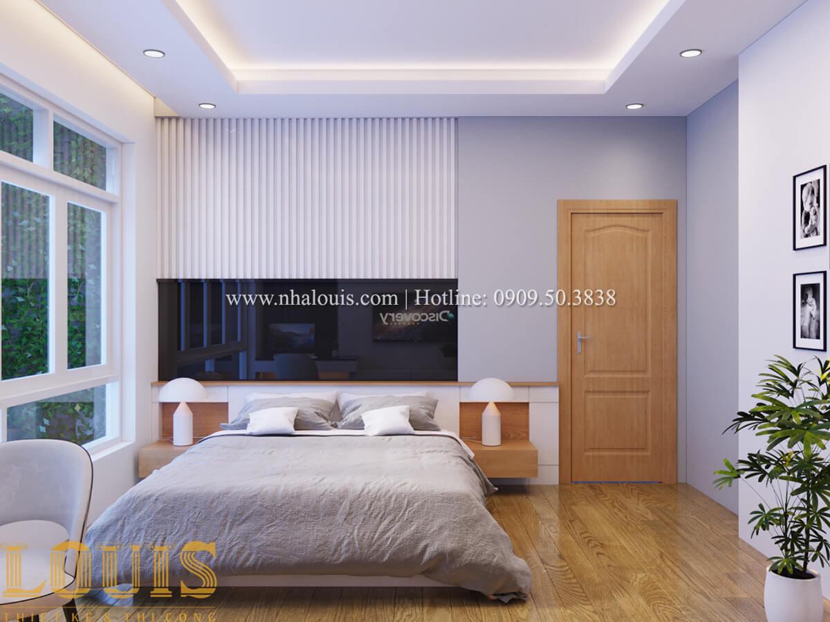 Phòng ngủ Nhà phố bán cổ điển với thần thái cực chất tại Tân Bình 20