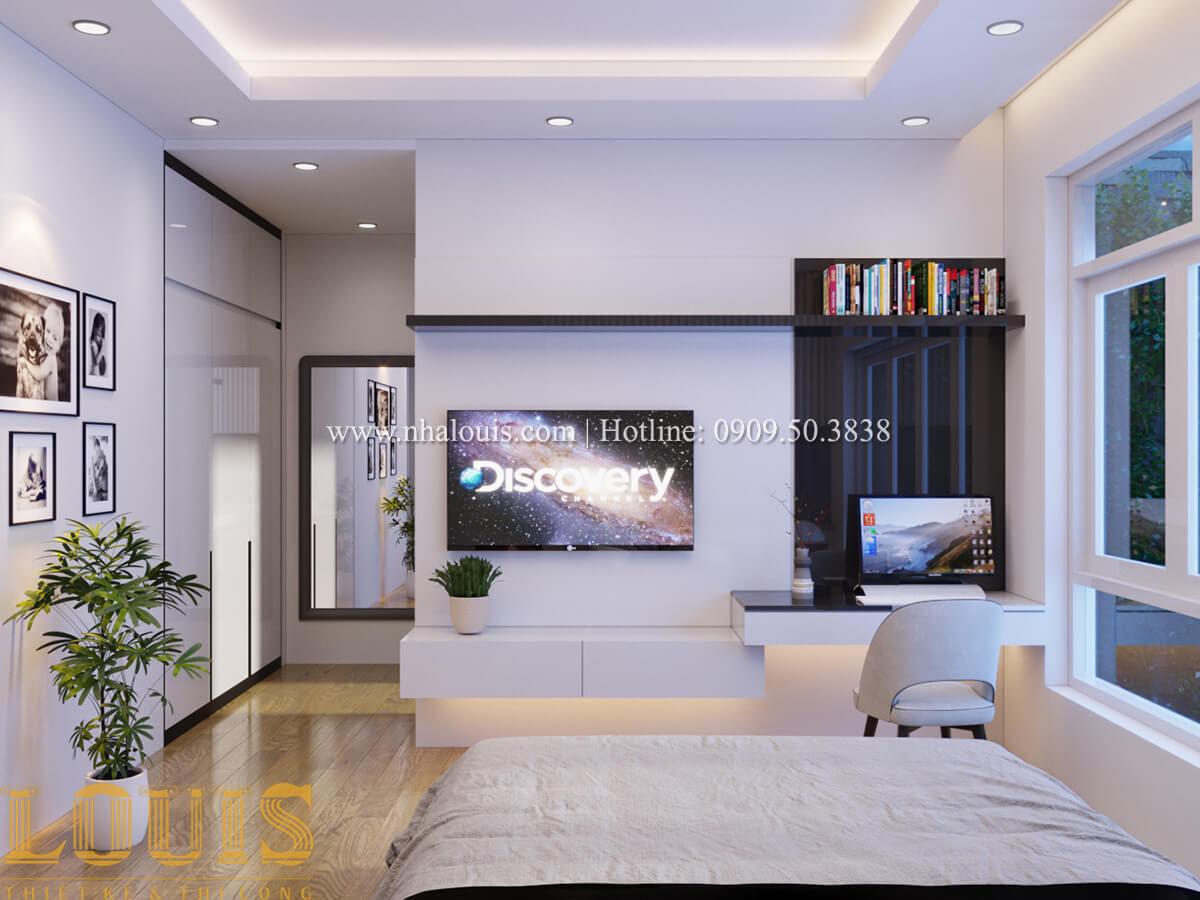 Phòng ngủ Nhà phố bán cổ điển với thần thái cực chất tại Tân Bình - 21