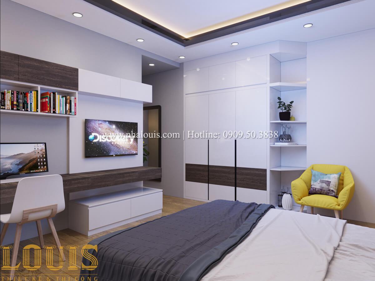 Phòng ngủ Nhà phố bán cổ điển với thần thái cực chất tại Tân Bình - 23