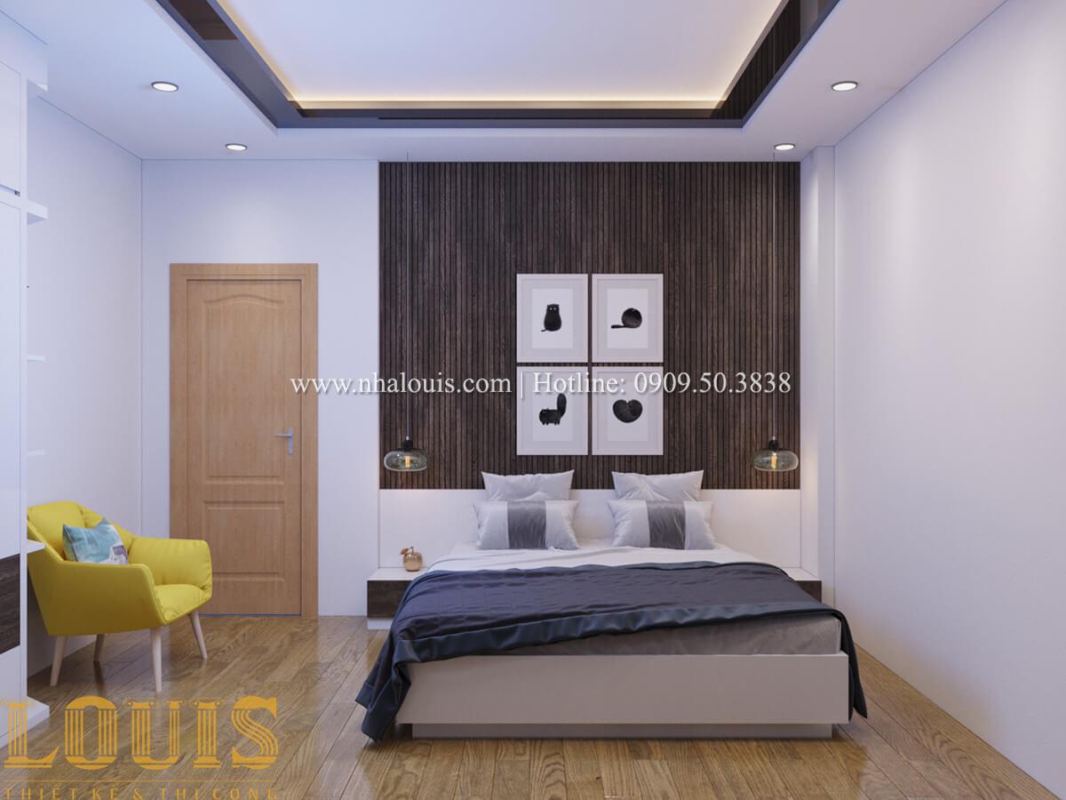 Phòng ngủ Nhà phố bán cổ điển với thần thái cực chất tại Tân Bình - 24