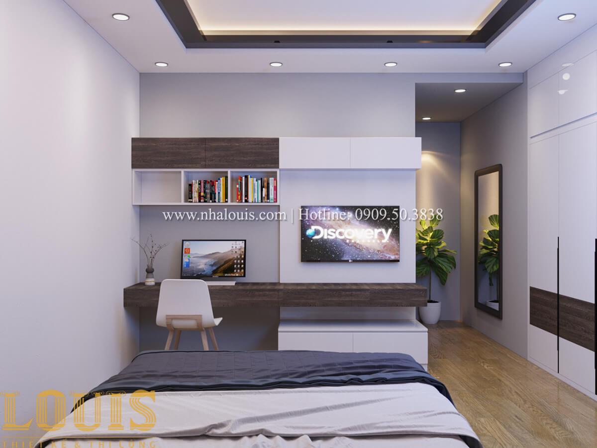 Phòng ngủ Nhà phố bán cổ điển với thần thái cực chất tại Tân Bình - 25