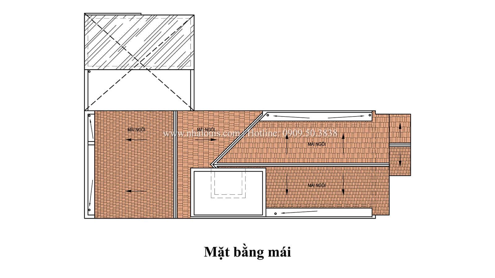 Mẫu nhà tân cổ điển 4 tầng với thần thái cực chất tại Tân Bình