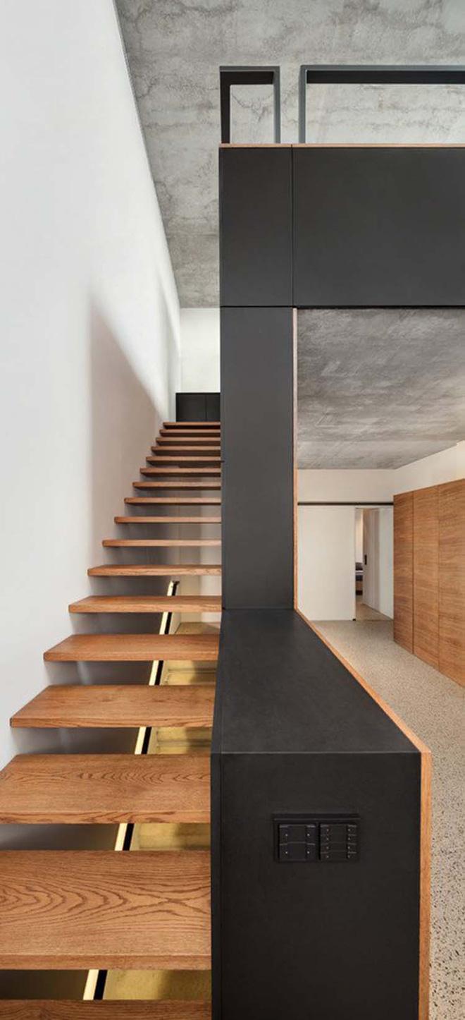 Những mẫu cầu thang ấn tượng tạo nét mới lạ cho không gian nhà