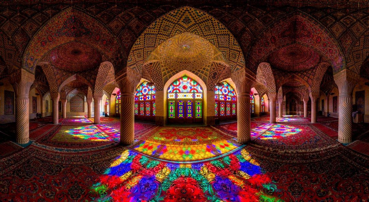 Choáng ngợp trước kiến trúc thánh đường Hồi Giáo tại Iran - 07