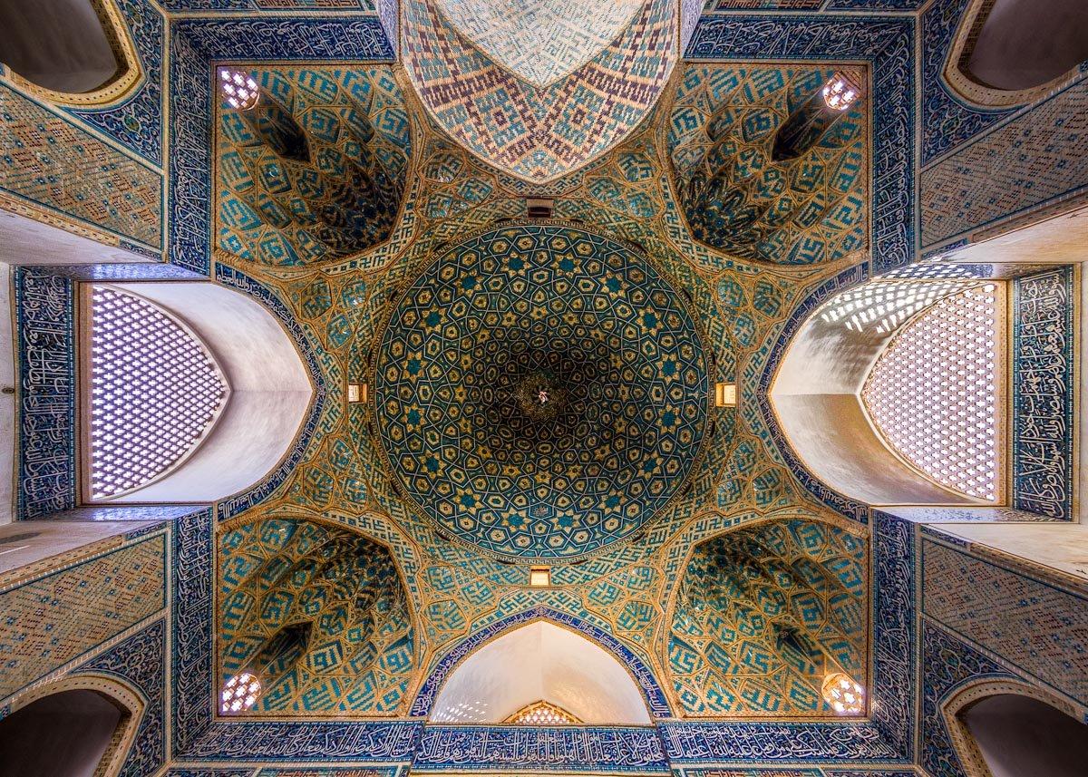 Choáng ngợp trước kiến trúc thánh đường Hồi Giáo tại Iran - 08