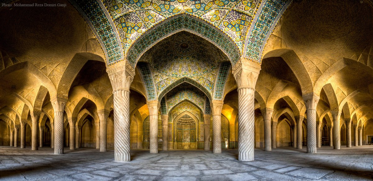 Choáng ngợp trước kiến trúc thánh đường Hồi Giáo tại Iran - 09