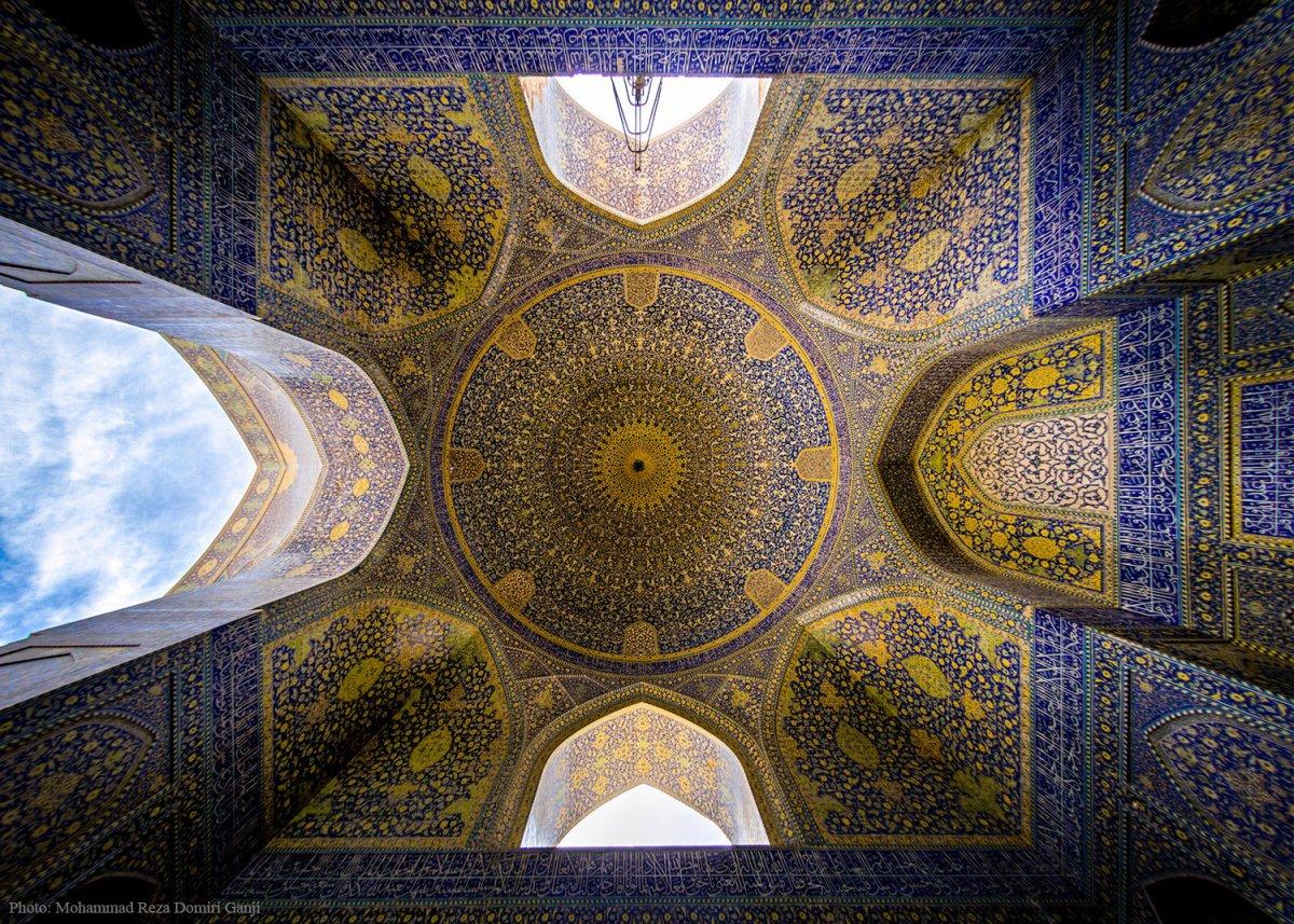 Choáng ngợp trước kiến trúc thánh đường Hồi Giáo tại Iran - 10