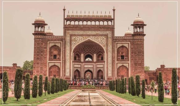 Taj Mahal - Hình mẫu tuyệt vời nhất của kiến trúc Mughal - 05