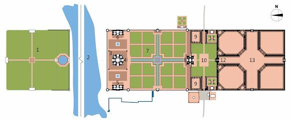 Taj Mahal - Hình mẫu tuyệt vời nhất của kiến trúc Mughal