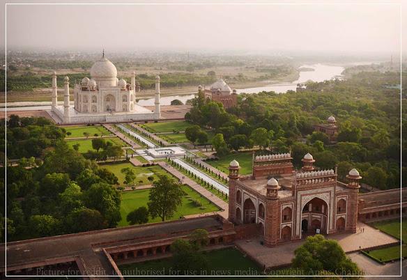 Taj Mahal - Hình mẫu tuyệt vời nhất của kiến trúc Mughal - 22